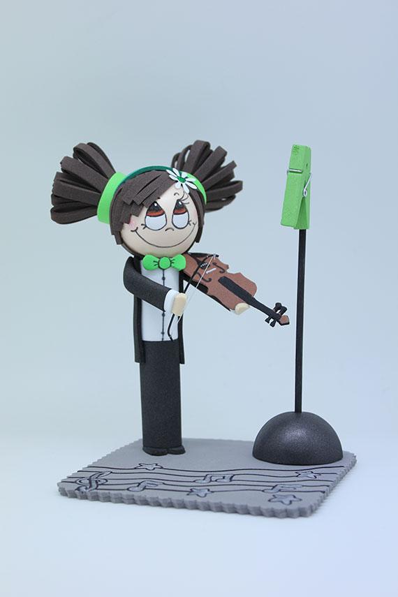 Foto 1 Fofucha Violinista
