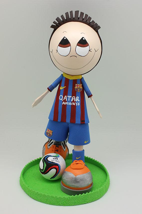 Foto 1 Fofucha Futbolista Barça
