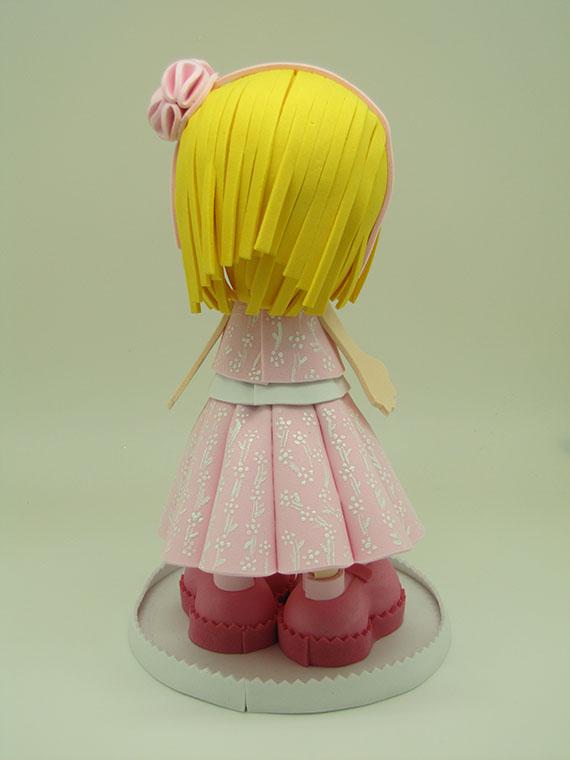 Foto 3 Fofucha Con vestido rosa