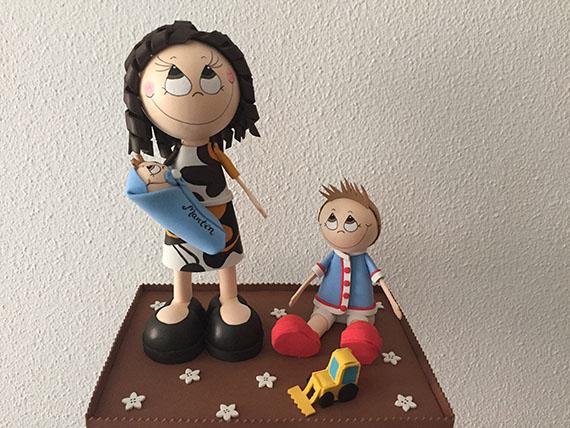 Foto 1 Fofucha Madre y los niñ@s