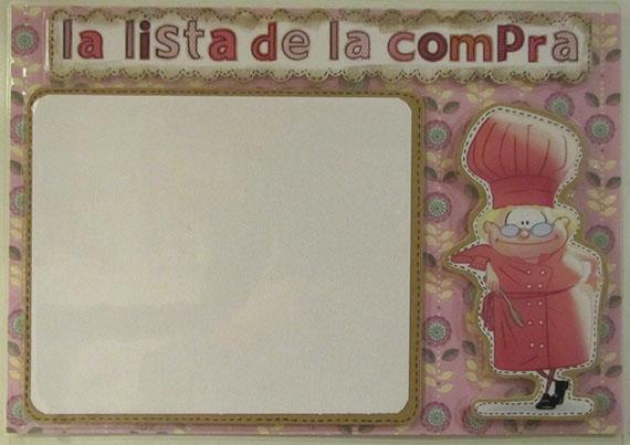 Foto 3 Fofucha Pizarra para la lista de la compra