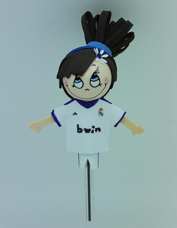 Foto 1 Fofucha Futbolista Real Madrid