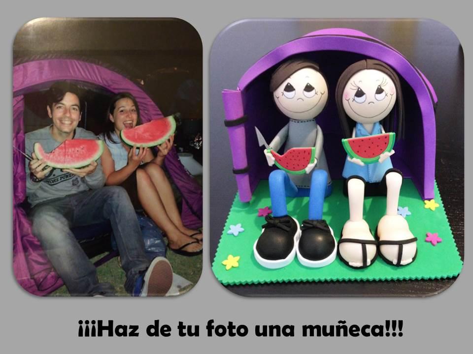 Foto 1 Fofucha Pareja de enamorados 2