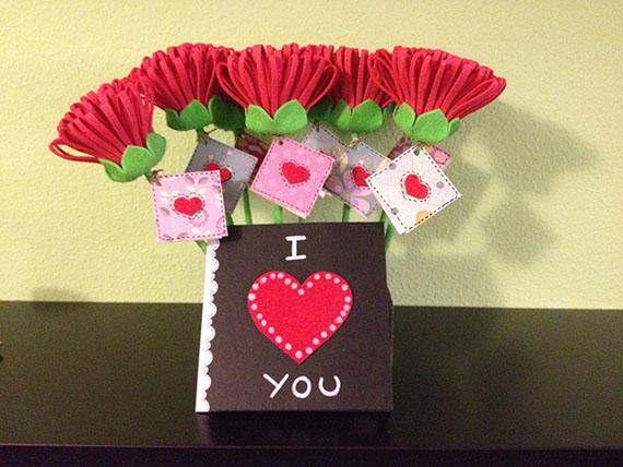 Foto 3 Fofucha Flores de San Valentín