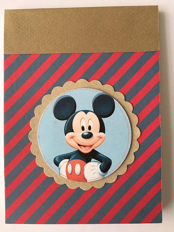 Foto 2 Fofucha Libretas de Mickey o Minnie