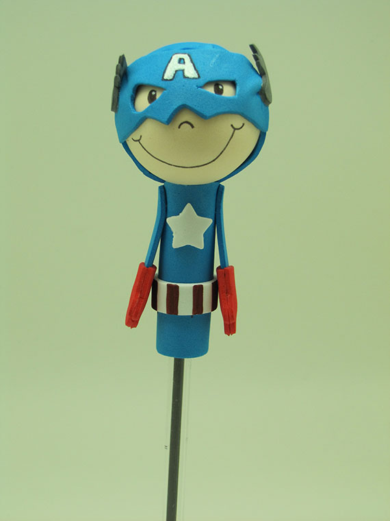 Foto 1 Fofucha Capitán América