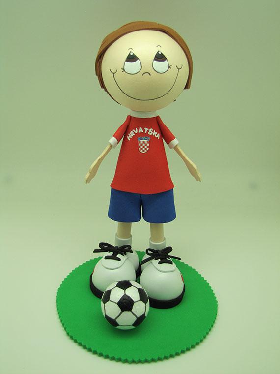 Foto 1 Fofucha Futbolista Croacia